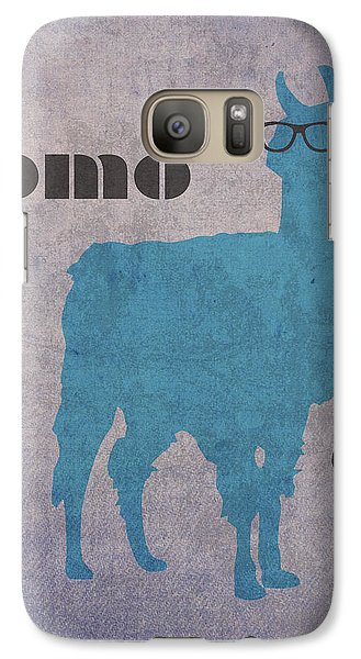 Como Te Llamas Humor Pun Poster Art Galaxy S7 Case by Design Turnpike