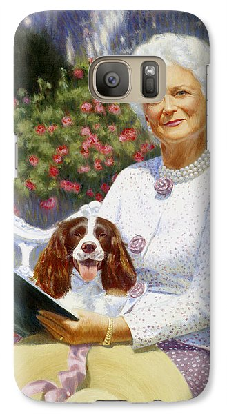 Companions In The Garden Galaxy Case by Candace Lovely