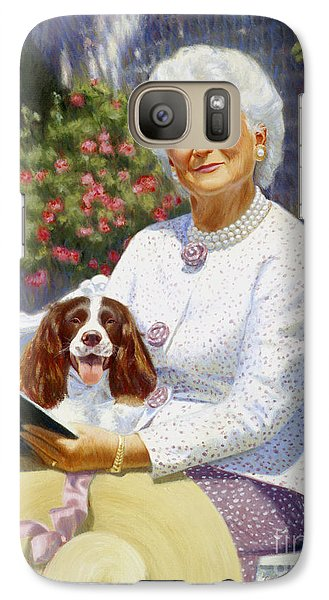 Companions In The Garden Galaxy S7 Case by Candace Lovely