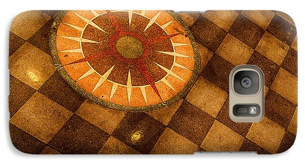 Galaxy Case featuring the photograph Compass Rose by Jay Stockhaus