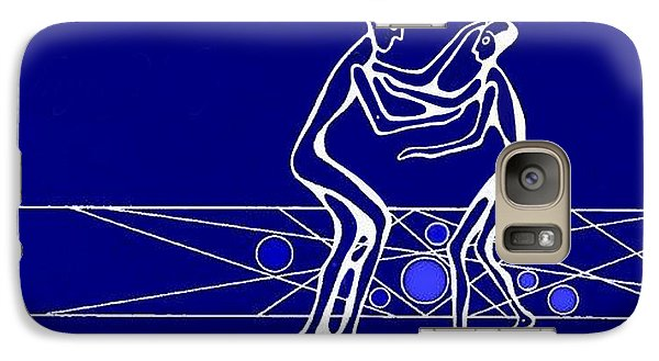 Galaxy Case featuring the painting Compassion by Hartmut Jager