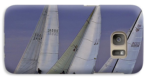 Galaxy Case featuring the photograph Competion by Michael Nowotny