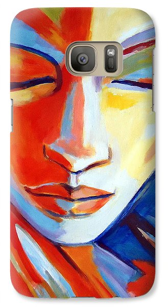 Galaxy Case featuring the painting Concealed Desires by Helena Wierzbicki