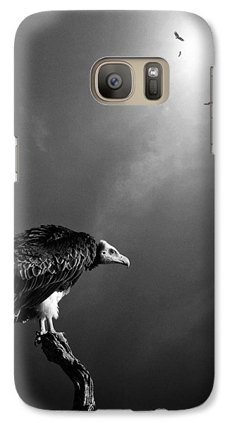 Conceptual - Vultures Awaiting Galaxy S7 Case by Johan Swanepoel