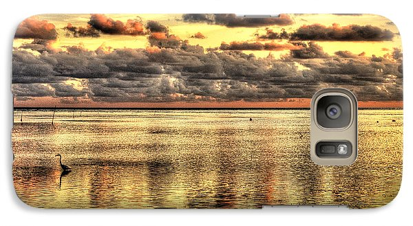 Galaxy Case featuring the photograph Conch Key Bay Sunset by Julis Simo