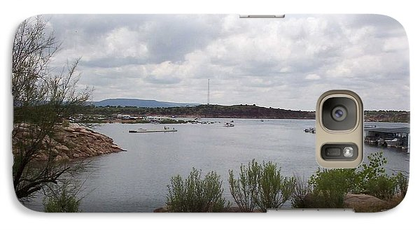 Galaxy Case featuring the photograph Conchas Dam by Sheri Keith