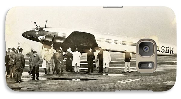 Condor Galaxy S7 Case - Condor Aircraft Before Take-off by Eye On The Reich: German Propaganda Photographs/new York Public Library