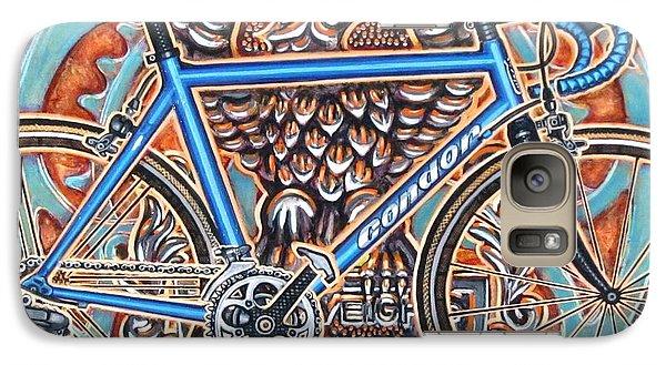 Galaxy Case featuring the painting Condor Baracchi by Mark Howard Jones