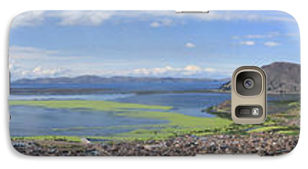 Condor Hill, Puno, Peru Galaxy S7 Case by Panoramic Images