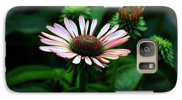 Galaxy Case featuring the photograph Coneflower 2014 by Marjorie Imbeau