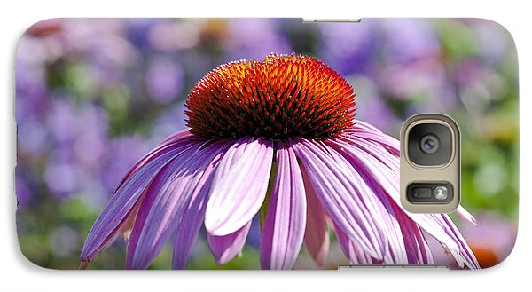 Galaxy Case featuring the photograph Coneflower by Lana Enderle