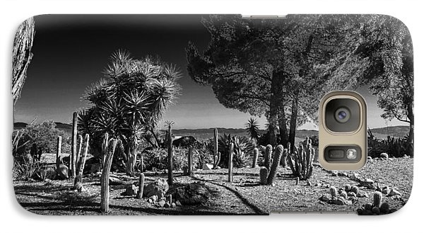 Galaxy Case featuring the photograph Conejo Cactus by Ross Henton