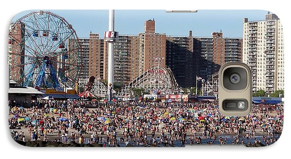 Galaxy Case featuring the photograph Coney Island by Ed Weidman