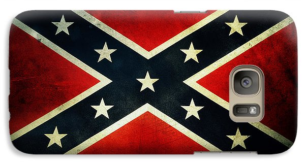 Confederate Flag Galaxy Case by Les Cunliffe
