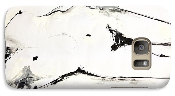 Galaxy Case featuring the drawing Confidence by Helen Syron