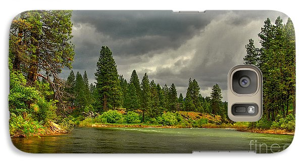 Galaxy Case featuring the photograph Confluence by Sam Rosen