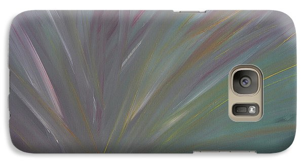 Galaxy Case featuring the painting Confused by Jennifer Muller