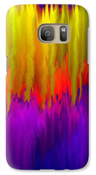 Galaxy Case featuring the mixed media Consciousness Rising by Carl Hunter