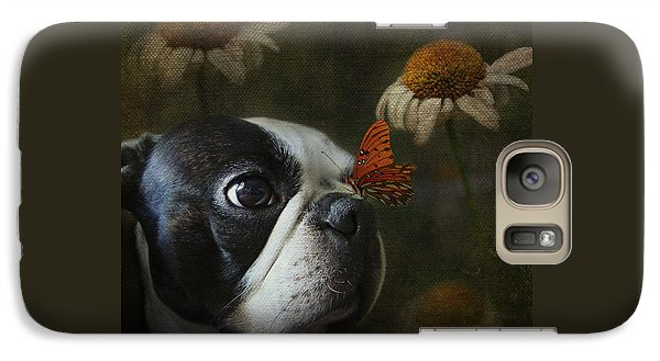 Galaxy Case featuring the photograph Constant Companion by Kathleen Holley