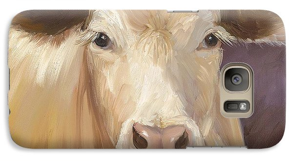 Galaxy Case featuring the painting Constanze by Cheri Wollenberg