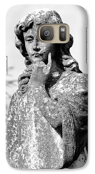 Galaxy Case featuring the photograph Contemplation by Andy Crawford