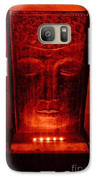 Galaxy Case featuring the photograph Contemplation by Linda Prewer