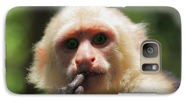 Galaxy Case featuring the photograph Contemplation by Patrick Witz