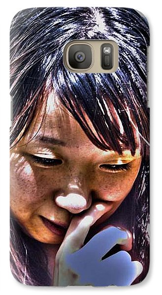 Galaxy Case featuring the photograph Contemplation by Tim Ernst