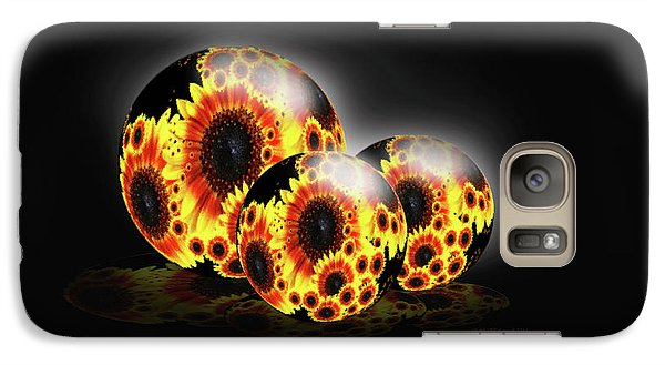 Galaxy Case featuring the photograph Contemporary Garden by Cathy  Beharriell