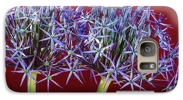 Galaxy Case featuring the photograph Flowering Onions by Roselynne Broussard