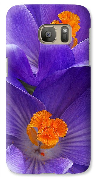 Galaxy Case featuring the photograph Contrasting Colors by Kathi Mirto