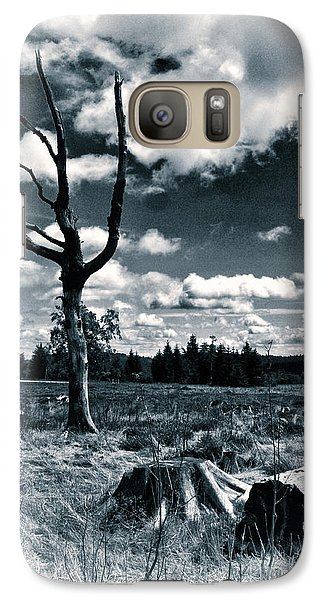 Galaxy Case featuring the photograph Contrasting Feelings by Simona Ghidini