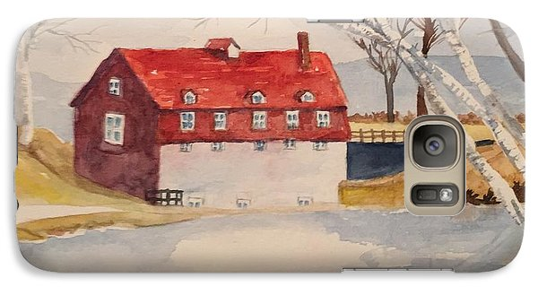 Galaxy Case featuring the painting Converted Barn by Lucia Grilletto