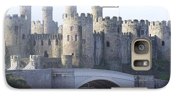Galaxy Case featuring the photograph Conwy Castle by Christopher Rowlands