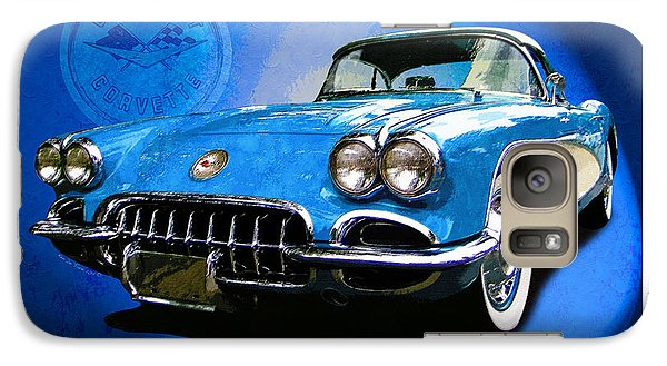 Galaxy Case featuring the photograph Cool Corvette by Kenneth De Tore