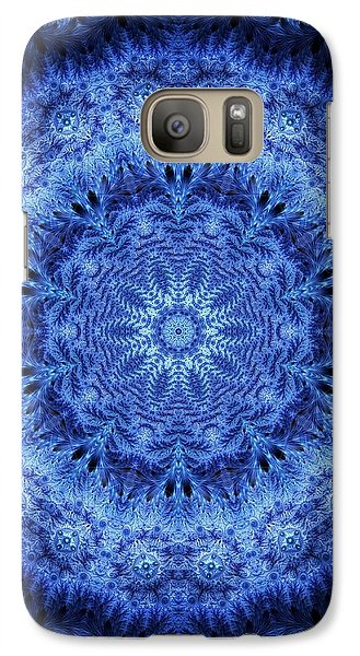 Galaxy Case featuring the digital art Cool Down Series #2 Frozen by Lilia D