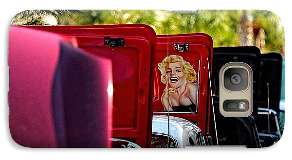 Galaxy Case featuring the photograph Cool Hood by Pamela Blizzard