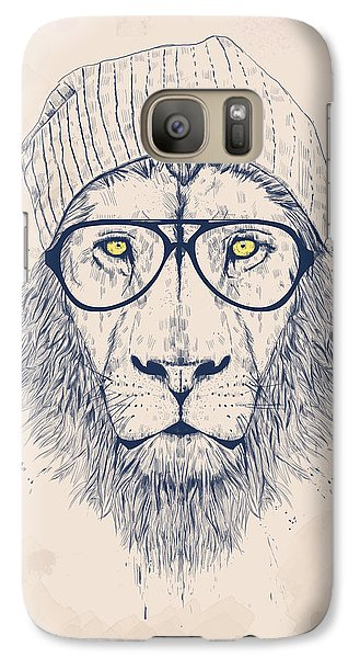 Animals Galaxy S7 Case - Cool Lion by Balazs Solti