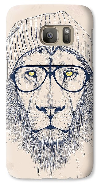 Cool Lion Galaxy S7 Case by Balazs Solti