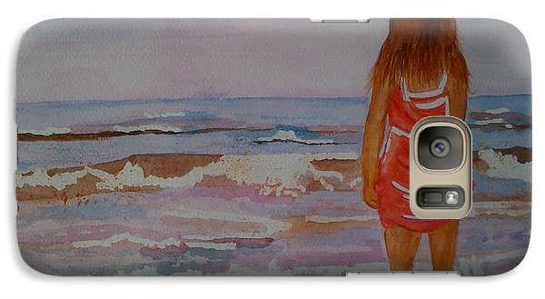 Galaxy Case featuring the painting Cool Relief by Judi Goodwin