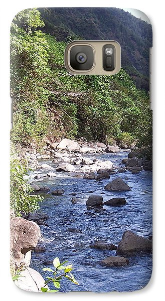 Galaxy Case featuring the photograph Cool Stream by Sheila Byers