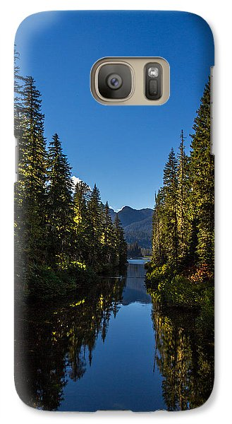 Galaxy Case featuring the photograph Cooper River Feeding Cooper Lake by Rob Green