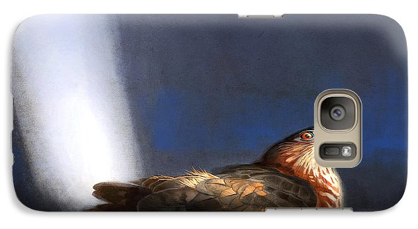 Galaxy Case featuring the digital art Coopers Hawk by Aaron Blaise