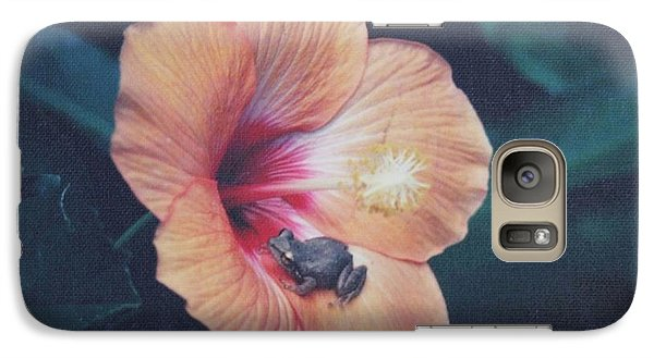 Galaxy Case featuring the photograph Coqui  by The Art of Alice Terrill