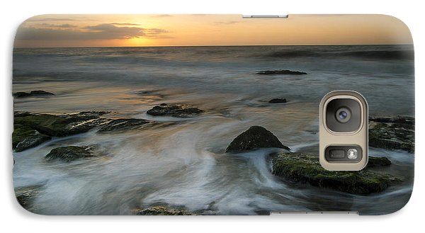 Galaxy Case featuring the photograph Coquina Rock Sunrise by Doug McPherson