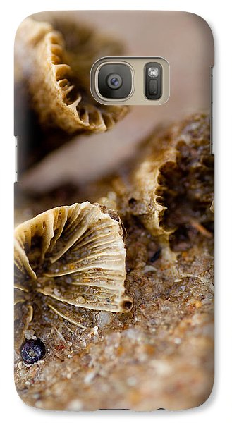 Galaxy Case featuring the photograph Coral In The Sand by Carole Hinding