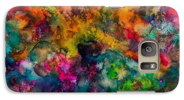 Galaxy Case featuring the painting Core by  Heidi Scott