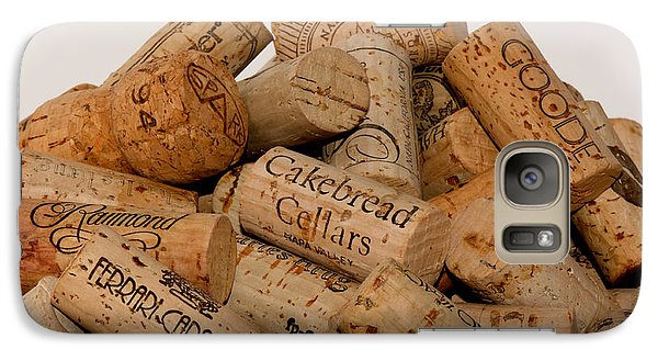 Galaxy Case featuring the photograph Corks - 11 by Vinnie Oakes