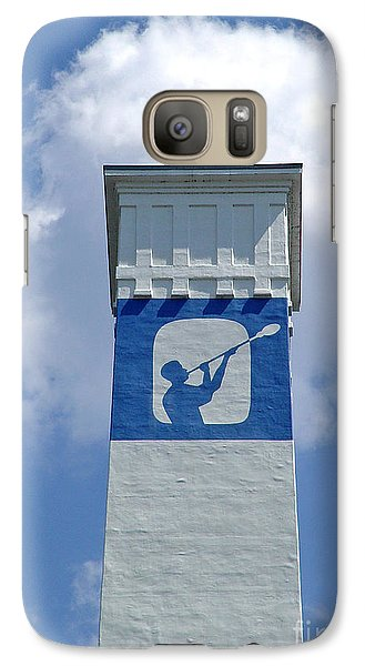 Galaxy Case featuring the photograph Corning Little Joe Tower 2 by Tom Doud