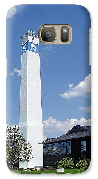 Galaxy Case featuring the photograph Corning Little Joe Tower 3 by Tom Doud